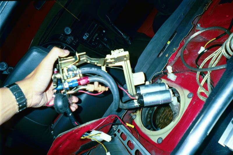 TwinTurbo NET: Nissan 300ZX forum - Dual fuel pump setup and ash